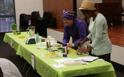 "What's for Dinner? Vallejo Attendees Learn About ""Bright and Light"" Summer Recipes"