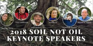 Soil Not Oil InternationalConference 2018 @ Grey Area/Grand Teather