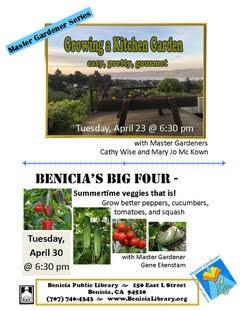 Benicia: Growing a Kitchen Herb Garden @ Benicia Library