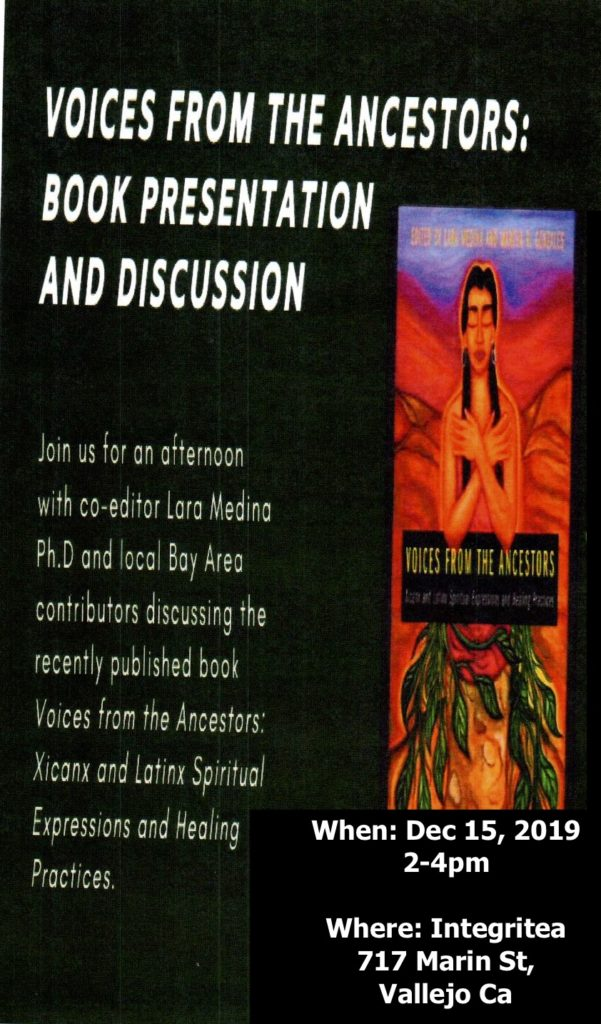 """Vallejo: """"Voices from the Ancestors"""" Book Launch and Reading @ IntegriTea tea shop"""